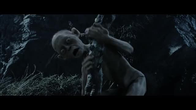 Watch Scream GIF by Ford? (@m_and_m) on Gfycat. Discover more Funny, Gollum, Movie, The Lord of the Rings GIFs on Gfycat