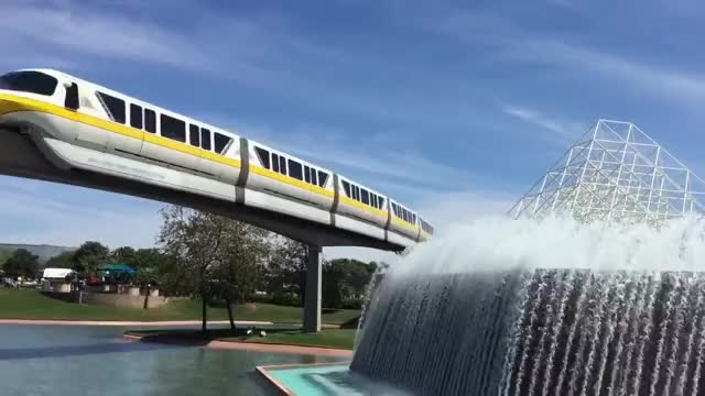 Watch and share Walt Disney World Monorail System GIFs on Gfycat