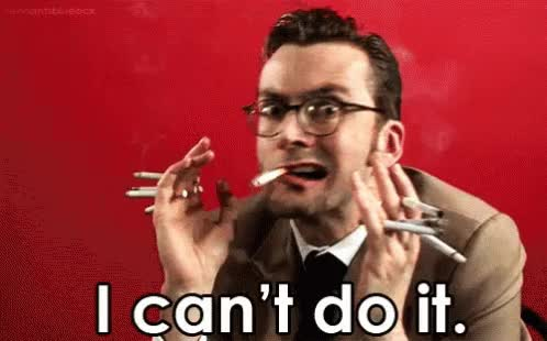 Watch and share Be Cant Do It David Tennant Cant Do It GIFs on Gfycat
