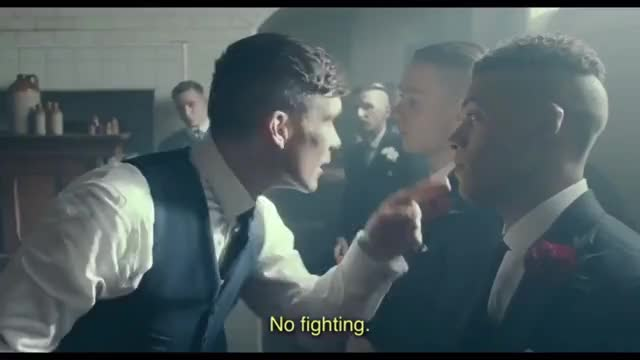 Watch NO FIGHTING- PEAKY BLINDERS- S3 E1 GIF on Gfycat. Discover more related GIFs on Gfycat
