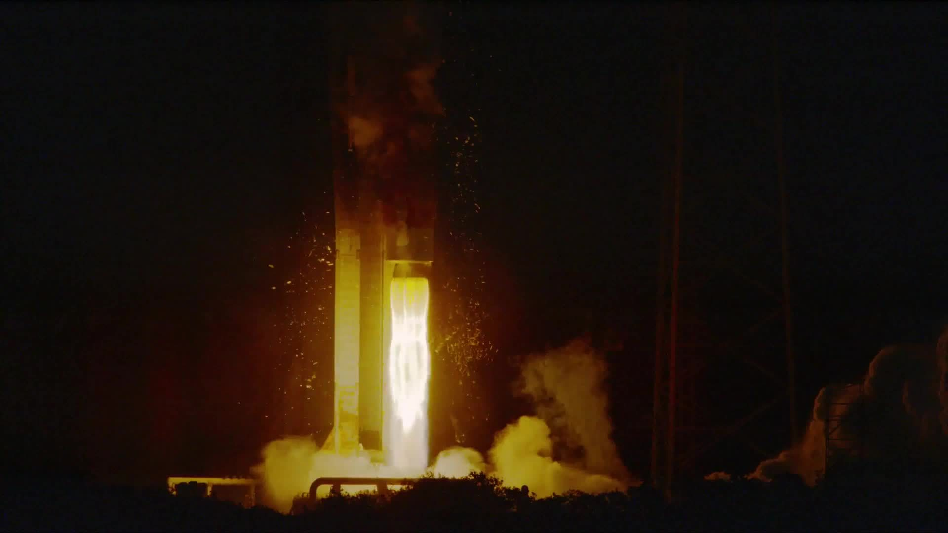 MissileGfys, SpaceGfys, missilesandrockets, Dec. 6 launch of Orbital ATK's Cygnus GIFs