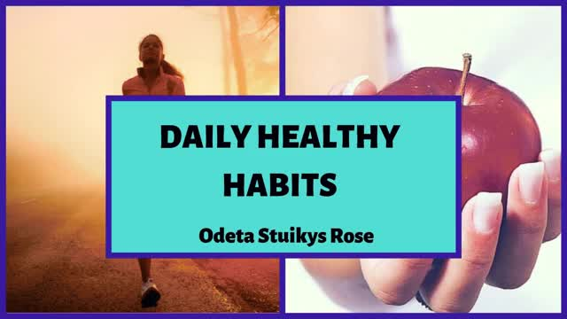Watch 8 Habits for healthy lifestyle | Odeta Stuikys Rose GIF by Odeta Stuikys Rose (@odetastuikysrose) on Gfycat. Discover more fitness, healthy habits, healthy lifestyle, odeta stuikys rose GIFs on Gfycat