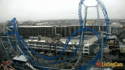 Watch and share Millennium Force GIFs on Gfycat
