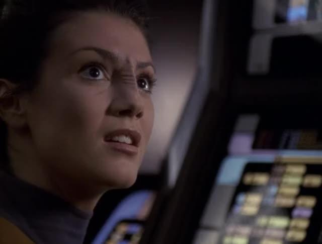 Watch As a developer, I feel her pain GIF by Star Trek gifs (@star-trek-gifs) on Gfycat. Discover more Good Shepherd, Star Trek, Star Trek: Voyager, Tal Celes, VOY, Voyager, Zoe McLellan GIFs on Gfycat