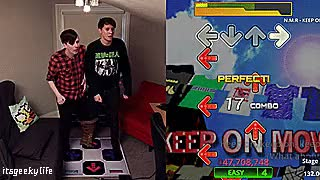 Watch Geek Girls GIF on Gfycat. Discover more adorable dancing, adorbs, amazing phil, amazingphil, dan and phil, dan and phil gaming channel, dan and phil play dance dance revolution, dan and phil play ddr, dan howell, danandphilgames, danisnotonfire, ddr, phil lester, three-legged ddr challenge GIFs on Gfycat