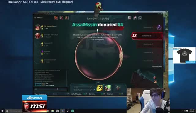 C9Sneaky Cosplay Stream