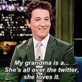 Watch and share My Spirit Animal GIFs and Miles Teller GIFs on Gfycat