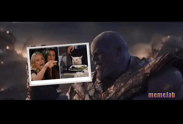 Watch and share I Am Inevitable GIFs and Memejab GIFs by Petty Parker on Gfycat
