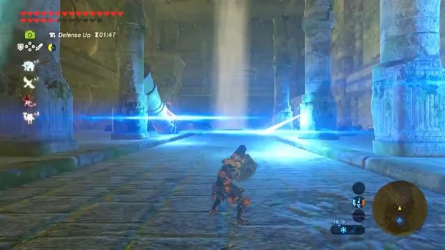 Watch and share Quadruple Guardian Shield Reflect/Parry Zelda BOTW GIFs on Gfycat