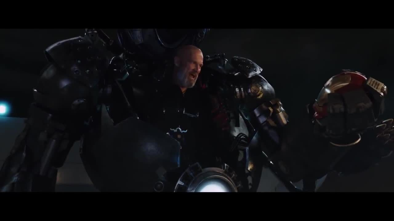marvelstudios, When early Ultron smashes that Iron Legion drone in the trailer... (reddit) GIFs