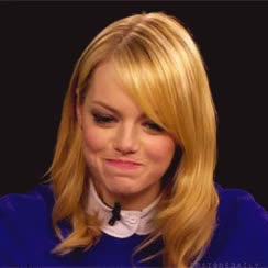 Watch this emma stone GIF by GIF Queen (@ioanna) on Gfycat. Discover more apologize, apology, bad, embarrassed, emma, emma stone, feel, mistake, my, oops, shy, stone GIFs on Gfycat