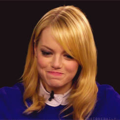 apologize, apology, bad, embarrassed, emma, emma stone, feel, mistake, my, oops, shy, stone, Emma is embarrassed GIFs