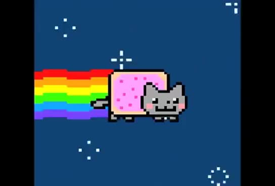 Watch and share Nyan Cat GIFs and Space GIFs on Gfycat