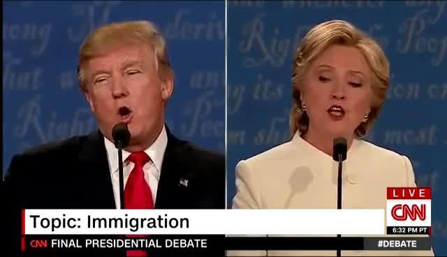 The Third Presidential Debate | The Biggest Controversy Was… GIFs