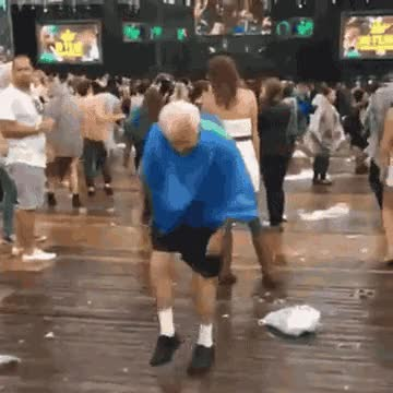 Watch and share Old People Dancing GIFs on Gfycat