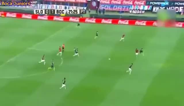 Watch and share Gol De Benedetto | San Lorenzo 1-2 Boca (Campeonato 2016/17) Goles De Boca A San Lorenzo GIFs on Gfycat