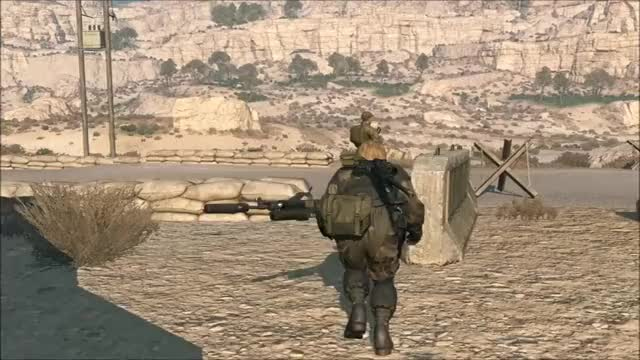 Watch and share Mgs V Rifle Disarm GIFs by snakesenpai on Gfycat