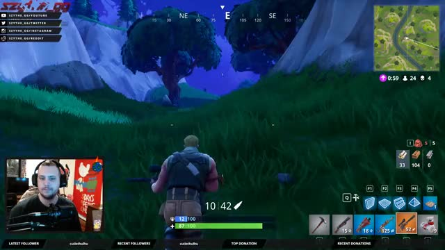 Watch and share Szythe_gg Playing Fortnite - Twitch Clips GIFs on Gfycat