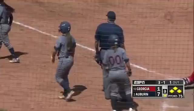 Auburn Softball 2016 Highlights GIFs