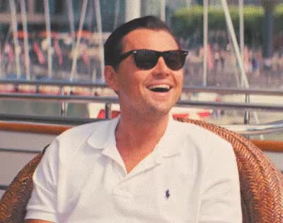 Watch and share Wolf Of Wall Street GIFs and Leonardo Dicaprio GIFs by Reactions on Gfycat