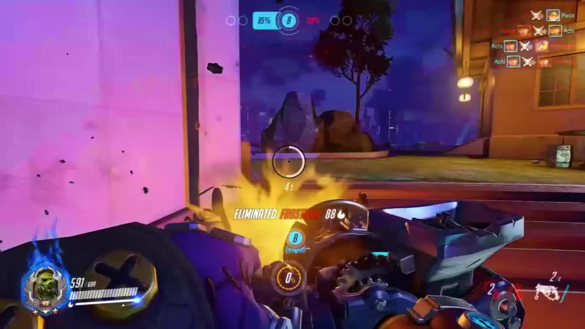 overwatch, Quite a hooker, that hog. GIFs
