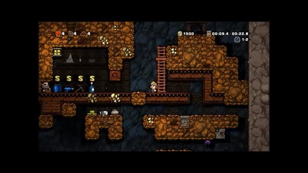 Spelunky Efficient GIFs