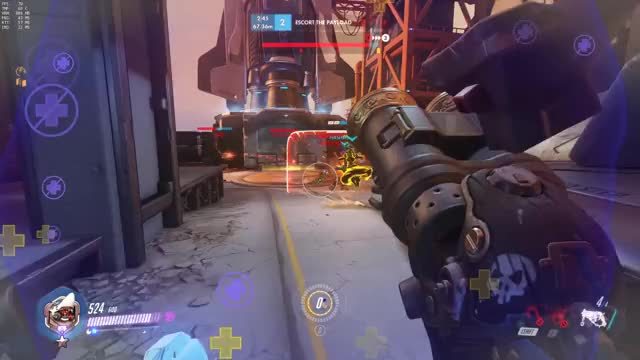 Watch and share Overwatch GIFs and Roadhog GIFs by colcoops on Gfycat