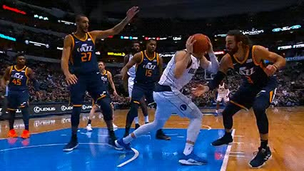 Watch and share Luka Dončić — Dallas Mavericks GIFs by Off-Hand on Gfycat