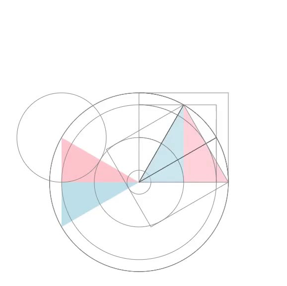Watch and share Geometry GIFs and Angles GIFs by Folding Circles on Gfycat