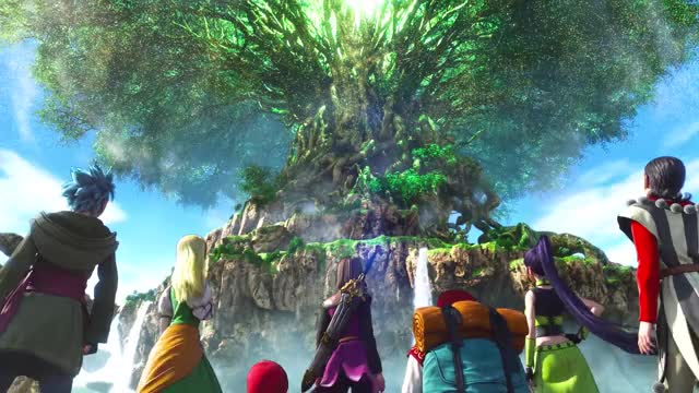 Watch and share Dragon Quest 11 GIFs by fumo on Gfycat