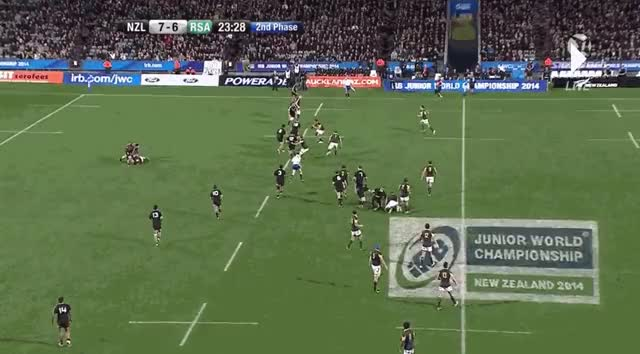 Watch Tevita Li's second try against South Africa (2014 IRB Junior World Championship) GIF on Gfycat. Discover more highlightgifs GIFs on Gfycat