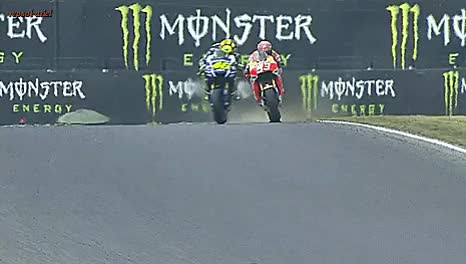 Watch repsol-ariel GIF on Gfycat. Discover more I made a Brno thing, I made a Marc and Valentino thing, I made a thing, Marc Marquez, Marc and Valentino having fun, Valentino Rossi GIFs on Gfycat