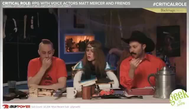 Watch and share Stoke The Flames | Critical Role RPG Show Episode 30 GIFs on Gfycat