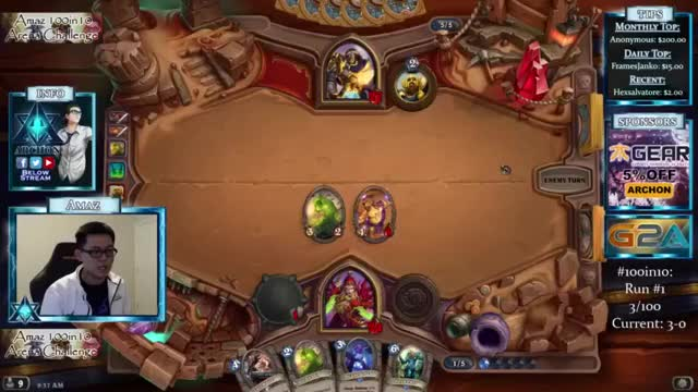 Hearthstone: Heroes of Warcraft AMAZ■ The 15th 100in10 - this is the one =) !predict my score
