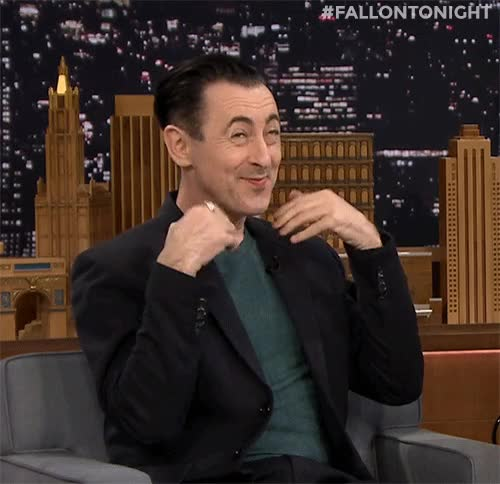 Watch and share The Tonight Show GIFs and Alan Cumming GIFs on Gfycat
