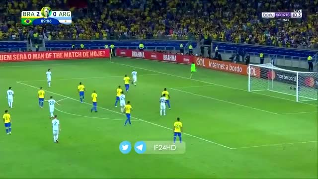 Watch and share Juan Foyth Vs Coutinho ► Amazing Skill ► BRA Vs ARG 2-0 | HD GIFs by Mohamed Talaat Brain on Gfycat