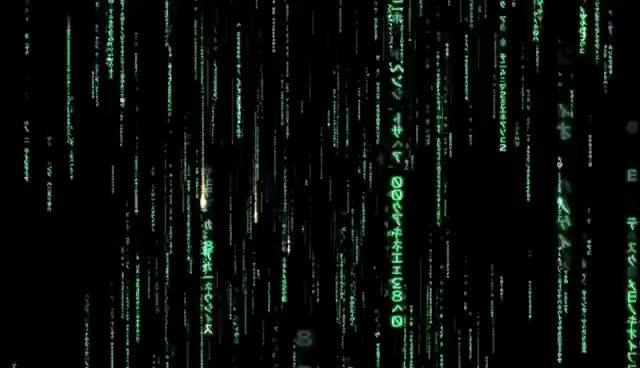 Watch and share The Matrix - Code Rain GIFs on Gfycat