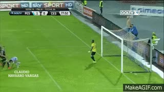 Watch and share Pescara 1-0 Cesena FULL HD Gol De Gianluca Lapadula 15/04/2016 GIFs on Gfycat