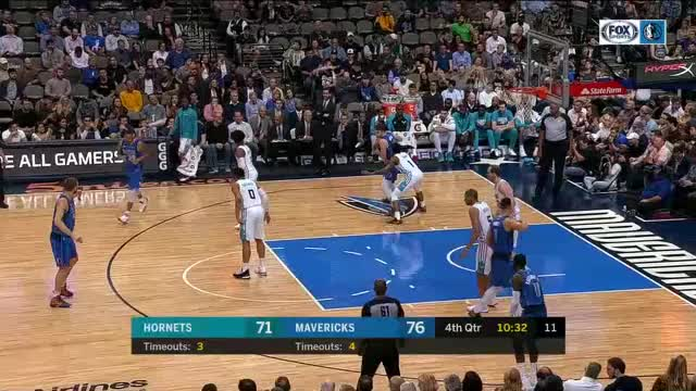 Watch and share Charlotte Hornets GIFs and Dallas Mavericks GIFs by dirk41 on Gfycat