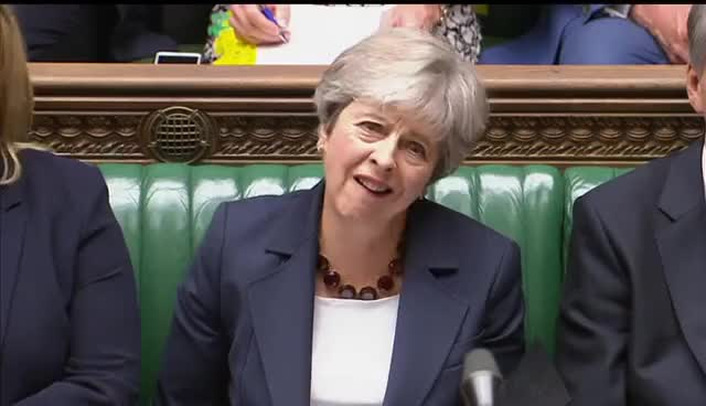 Watch and share Theresa May GIFs and Pmqs GIFs on Gfycat