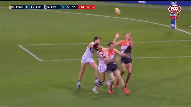 Watch Lobb does the impossible - AFL GIF on Gfycat. Discover more Football, Footy, Highlights, afl, goals, handballs, kicks, marks GIFs on Gfycat