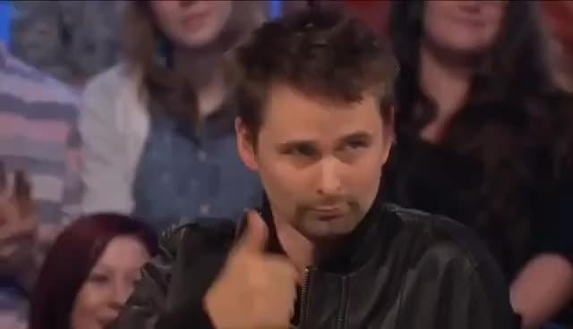 Watch and share Matt Bellamy Muse GIFs on Gfycat