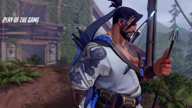Watch and share Overwatch GIFs and Hanzo GIFs by monsterxamp on Gfycat