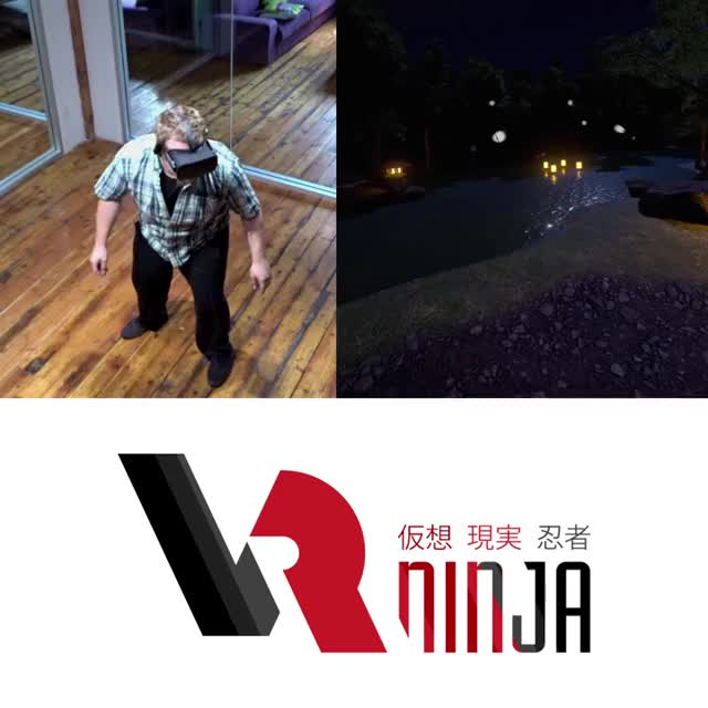 Watch and share Shots From The VRNinja Trailer: Dodging Some Kunai! #VR #gamedev GIFs by MADSOFT Games, inc. on Gfycat