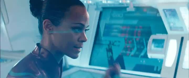 anger, angry, frustrated, into darkness, nyota uhura, reaction, star trek, star trek beyond, star trek enterprise, star trek into darkness, star trek nemesis, star trek voyager, uhura, zoe saldana, Uhura Reaction 1 GIFs