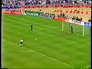 Watch and share Euro 96: Stuart Pearce's Penalty GIFs on Gfycat