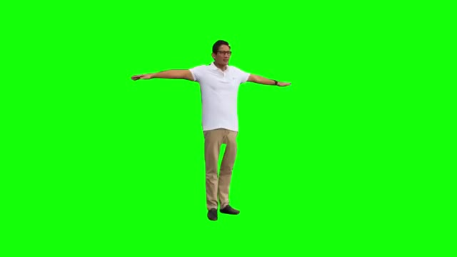Watch and share Sandiaga Uno Fortnite Default Dance (Green Screen)(720P HD) GIFs on Gfycat