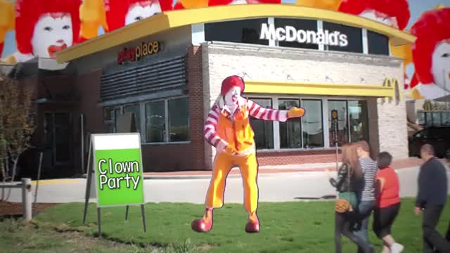 Watch and share Ronald Mcdonald GIFs and Bb Material GIFs on Gfycat
