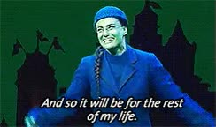 Watch and share Broadway Idina Menzel Wicked The Wizard And I GIFs on Gfycat