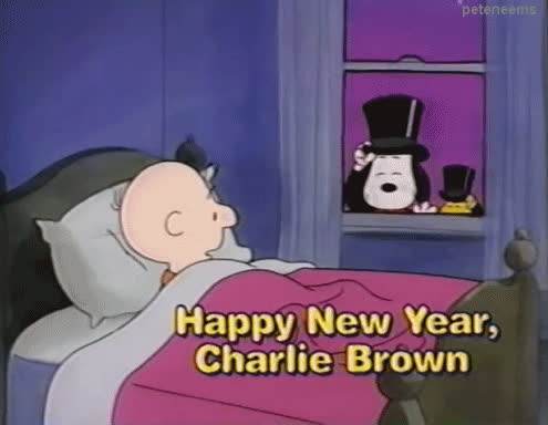 happy new year, new year, new years, thanksgiving snoopy GIFs